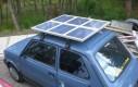 Elektryczny Maluch na promienie słoneczne
