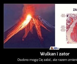 Wulkan i zator