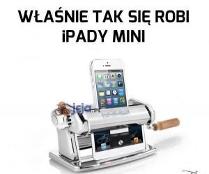 Właśnie tak się robi iPady mini