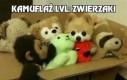Kamuflaż lvl: Zwierzaki