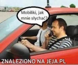 Mobilki, jak mnie słychać?