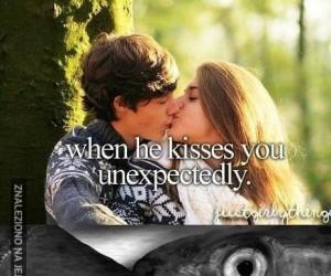 Niespodziewany pocałunek