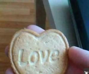 Ciastko z wielkim LOVE