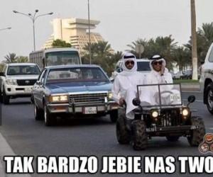 Arabowie...
