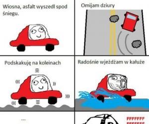 Wiosna w Polsce...