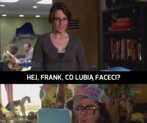 Frank zna się na randkowaniu