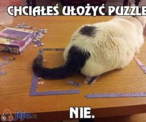 Chciałeś ułożyć puzzle?