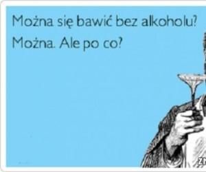 Zabawa bez alkoholu?