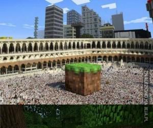 Minecraft wszędzie