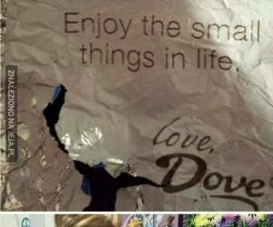 Ciesz się z małych rzeczy