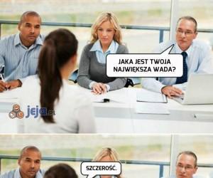 Szczera rozmowa kwalifikacyjna