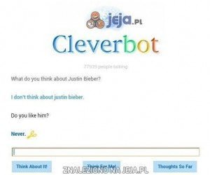 Nawet Cleverbot go nie lubi