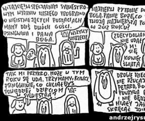 Pan Bóg i Psingwin - Sylwester 2012