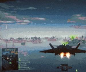 Zawodowy pilot myśliwca z doświadczeniem