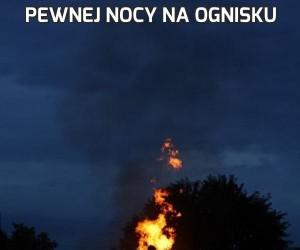 Pewnej nocy na ognisku