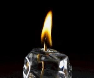 To tylko lodowa świeca, przewijaj dalej