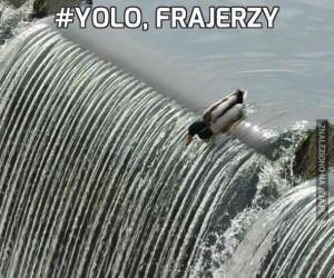 #YOLO, frajerzy