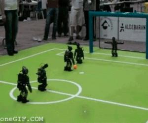Robo piłkarze