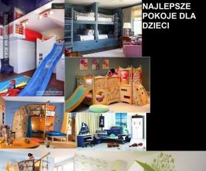 Najlepsze pokoje dziecinne