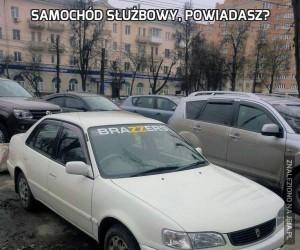 Samochód służbowy, powiadasz?