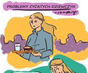 Problemy cycatych dziewczyn