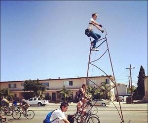 Najwyższy rower świata