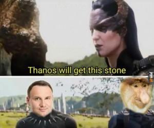 Thanos w Polsce