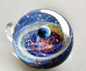 Galaktyczne i kwiatowe szklane kule