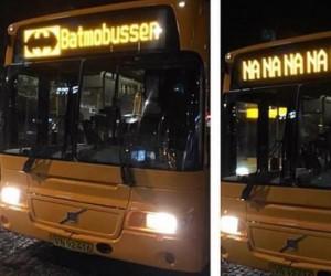 Jedź do domu, autobus, jesteś pijany!