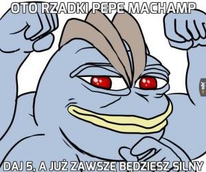 Oto rzadki Pepe Machamp