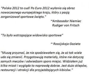 Komentarze do EURO 2012