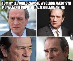 Zdegustowany Tommy