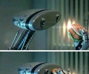 Jedzący robot