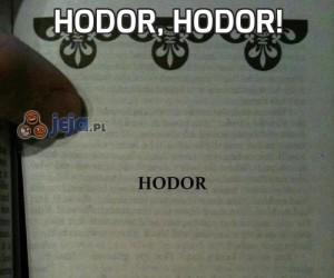 Hodor, hodor!