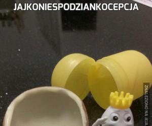 Jajkoniespodziankocepcja
