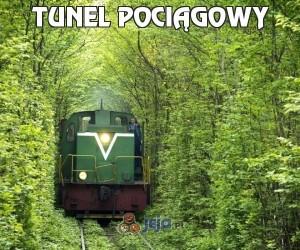 Tunel pociągowy