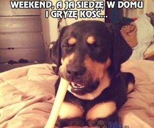 Weekend też potrafi być nudny