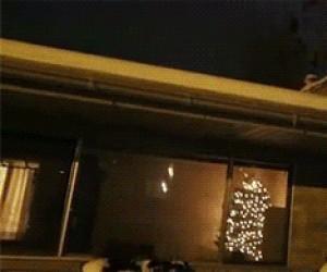 Mikołaj trenuje na Wigilię