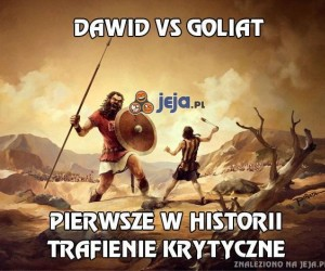 Dawid vs Goliat