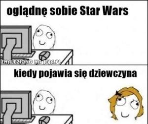 Oglądając Star Wars...