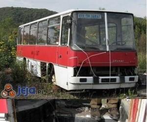 Ten autobus będzie pasował do mojego pokoju!