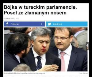 A podobno to polscy posłowie nie umieją się zachować