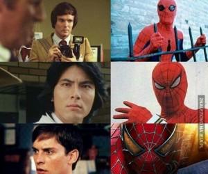Wybierz swojego Spidermana