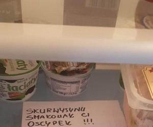 Złodziej w lodówce