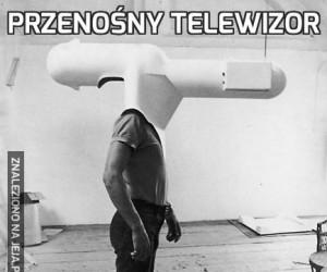 Przenośny telewizor