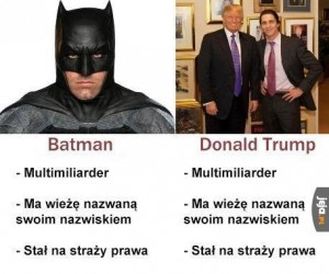 Batman vs Trump