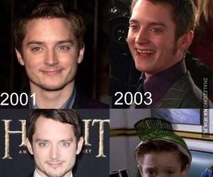 Frodo kiedyś i dziś