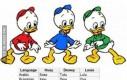 Siostrzeńcy Donalda w różnych językach