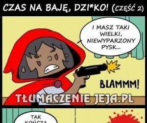 Murzyński kapturek, brachu! CZĘŚĆ DRUGA