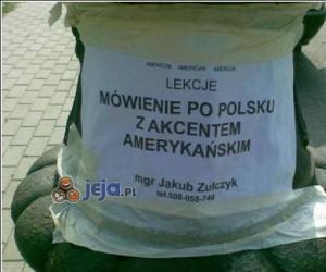 Lekcje mówienia po polsku...